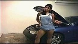 Angela Devi Hot On Car