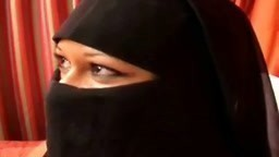 Arabic Angel in Burka