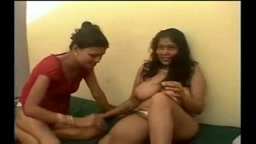 Indian girl with her girlfriend