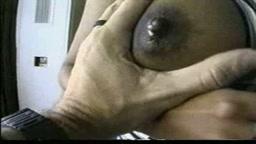 Lactating big tits threesome