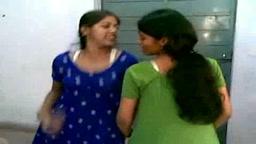 Engineering College Girls doing masti