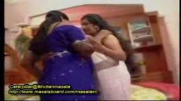 Mallu lesbian aunties undress each other