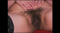 Hairy Arab Black Bra Solo Pussy Rub