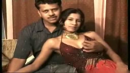 Sapna with her boyfriend