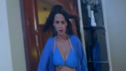 Sapna's boobs out of bra from Movie Chikh