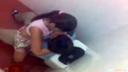 Voyeur Tapes An Indian Ponytailed Babe Riding Her Boy Friend