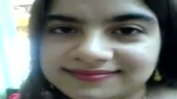 Arab girl self masturbating
