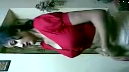 Newly Married Red Blouse Indian Woman