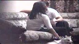 Geetha with her boyfriend