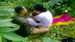Desi Couple Sex in Woods