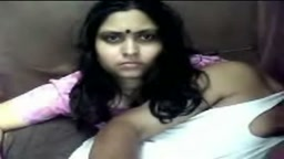Indian Couple on a Webcam