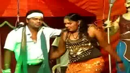 Fat Hot Tamil Girl Stage Show Dance