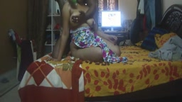 Desi Aunty Gets Breast Massage