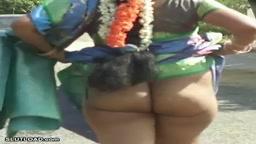 Sexy Tamil Aunty Malavika Ass Walk