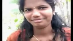 Desi College Girl Outdoor Foreplay