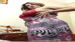 Chubby Arab House Wife Self Video