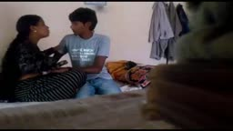 Indian Babe Passionate Kiss
