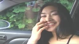 Korean Teen Fucked from Car to Home
