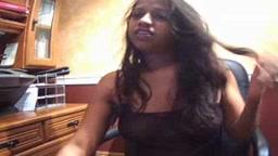 indian desi chick on webcam exposing to stranger