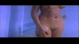 Full nude bathing scene