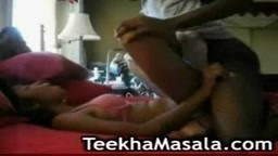 Indian student loves black cock