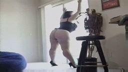 Big Ass Brunette Alya BBW