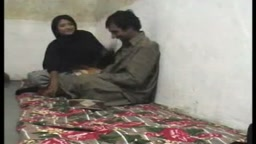 Pakistani Couple having sex in their village