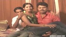 Sapna with Raj & Froze - Part 1