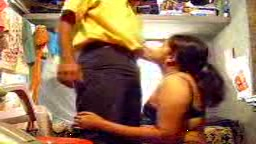 Sandhya with her sisters husband Hiddencam scandal