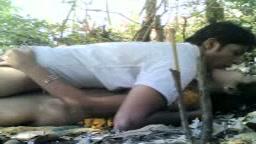 A sex in the jungle