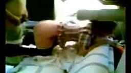 Arab couple on hidden cam