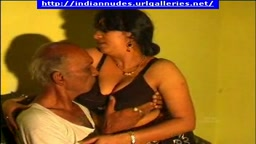 Indian aunty with old man