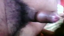 Aunty sucking a small black cock