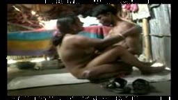 Desi Couple Fucking in a Shack