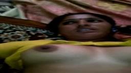 My Urvashi Bhabhi in Yellow Saree Strips