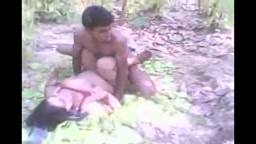 Bangadesi Call Girl Fucked in Jute Field