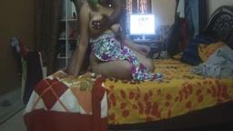 Desi Aunty Gets Breast Massage
