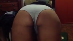 Indian Wife Shows her Big Ass