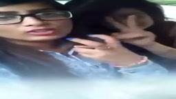 Dirty punjabi girls driving and joking