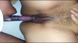 Young Hairy Pussy Fucked By Boyfriend
