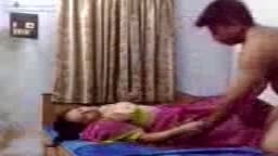 Horny Mallu Waiting on Bed for Lover