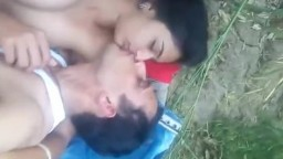 Indian College Girl Having Outdoor Sex