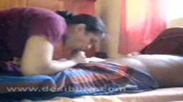 Bangladesi couple is fucking while the kid is sleeping