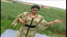 Arab dance in fields